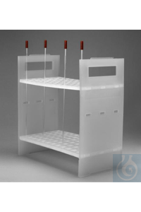 RACK,3MM,NMR SAMPLE TUBE18854-0003 Bel-Art NMR Sample Tube Rack; For 3mm...