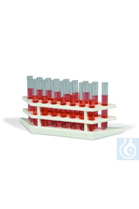 TEST TUBE SUPPORT 10-14MM18862-0000 Bel-Art Tiered Test Tube Rack; For...