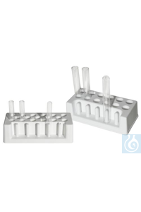 RACK,PE,TEST TUBE18923-0000 Bel-Art Test Tube Rack; For 16-20mm Tubes, 12 Places