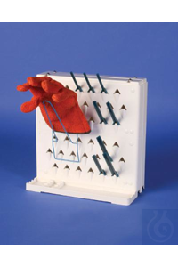 LAB-AIRE(R) II GLOVE DRYING RACK18931-0000 Bel-Art Lab-Aire II Wire Glove...