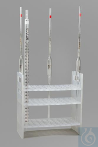 RACK,PP,PIPETTE SUPPORT18953-0000 Bel-Art Pipette Support Rack; 16mm, 50...
