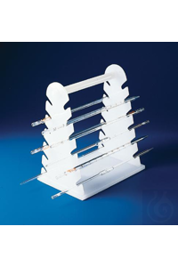 RACK,PE,PIPETTE SUPPORT18960-0000 Bel-Art Pipette Support Rack; 22cm and...