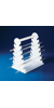 Bel-Art Pipette Support Rack; 22cm and Longer, 12 Places, 9½ x 7 x 11½ in.,...