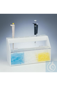 STATION,ACRYLIC,PIPETTOR/TIP STORAGE18961-9166 Bel-Art Pipettor and Tip...