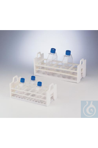 RACK,TISSUE CULTURE FLASK,25CM18970-0001 Bel-Art Tissue Culture Flask Rack;...