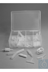 CONNECTOR KIT,TUBING,PP,BOX/2819626-0000 Bel-Art 28-Piece Plastic Fitting Kit