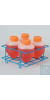Bel-Art Poxygrid Centrifuge Tube Rack; For 500ml Tubes, 4 Places Bel-Art...