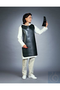 APRON,NEOPRENE,BETA BLOCKING24602-0000 Bel-Art Beta Blocking Apron, Neoprene