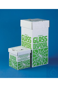 BOX,BROKEN GLASS DISPOSAL-FLOOR MODEL,24653-0001 Bel-Art Cardboard Disposal...