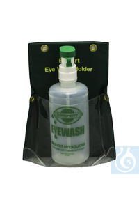 HOLDER,VINYL,EYE WASH HOLDER24854-0000 Bel-Art Eye Wash Bottle Holder;...