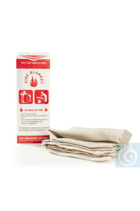 BLANKET,FIRE24869-0000 Bel-Art Fire Blanket; Fiberglass, 36 x 40 in.