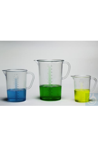 PITCHER,TPX,GRADUATED,500ML28982-0000 Bel-Art Tall Form 500ml Clear TPX...