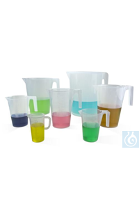 PITCHER,PP,GRADUATED,250ML28989-0000 Bel-Art Tall Form 250ml Polypropylene...