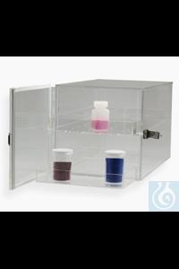 CABINET,ACRYLIC,DESICCATOR,CLEAR,42064-0000 Bel-Art Clear Acrylic Desiccator...