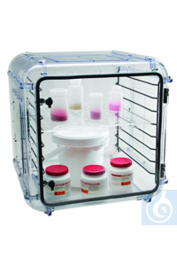 SHELVES,SCIENCEWARE® GRANDE DESICCATOR43000-0001 Bel-Art Acrylic Shelf Set...