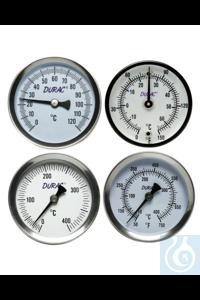 Thermometer, DURAC, 50/250F, Bi-Metal61320-0600 H-B DURAC Bi-Metallic Surface...