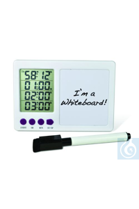 H-B DURAC 4-Channel Electronic Timer with White Board and Certificate of...