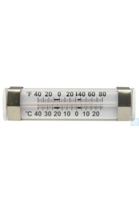 Thermometer, DURAC, -40/27C(-40/80F), Re60802-0300 H-B DURAC Liquid-In-Glass...