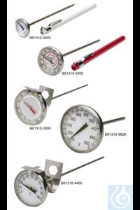Thermometer, DURAC, 0/50C, Bi-Metal61310-4300 H-B DURAC Bi-Metallic...