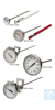 H-B DURAC Bi-Metallic Thermometer; 0 to 250C, 25mm Dial H-B DURAC Bi-Metallic...