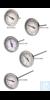 Thermometer, DURAC, 0/200F, Bi-Metal61310-9400 H-B DURAC Bi-Metallic Dial...