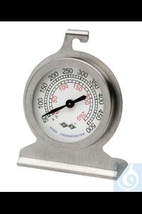 Thermometer, DURAC, 10/260C(50/500F)61320-2000 H-B DURAC Bi-Metallic Oven...