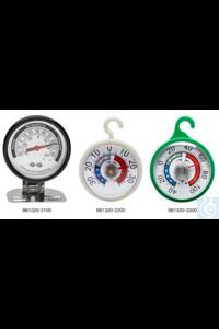 Thermometer, DURAC, -30/30C(-20/80F)61320-2100 H-B DURAC Bi-Metallic...