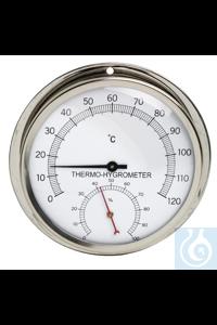Thermo-Hygrometer, DURAC 0/120C, 0/100%61505-0000