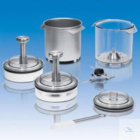 Mahlbehälter aus rostfreiem Stahl, autoklavierbar, 5 Liter,-SR-inklusive Messera