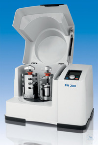 Planetary Ball Mill PM 200 for 230 V, 50/60 Hz, with 2 grinding stations, speed  Planetary Ball...