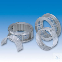 26Articles like: Ring sieve 360° SR trapezoid holes 0.08 mm, stainless steel Ring sieve 360°...
