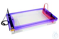 Elektrophoresekammer MultiSUB Screen 32, Tray 26x32cm,28er-Kämme multiSUB™ Screen wurde für das...