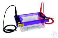 Elektrophoresekammer MultiSUB Midi 7, Tray 10x7cm, 16er-Kämme multiSUB™ Midi wurde mit den...