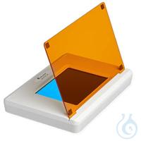 SmartBlue Blaulichttransillum.17x12cm, inkl. orangene Filterabdeck.,schnittfest Viele neue...