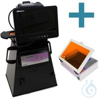 microDOC Gel-Dokumentations-System, mit 24,1 Megapixel-Kamera, TouchScreen...