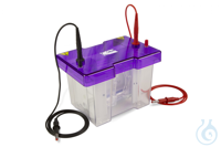 omniPAGE Mini Elektrophorese,Gele10x10cm, Ausstattung f.2Gele,Gießbasis,Gießstan Cleaver...
