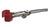 Retort clamp flex. shaft, nickel, plated, Span width 15-65mm Retort clamp flexible shaft, nickel...