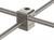 Nuez de sujeción tetragonal, laboral, d=12-13x12-13mm Nuez de sujeción tetragonal, 18/10 acero...