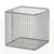 Wire basket 18/10 E-Poli, 200x150x150mm Wire basket 18/10 steel electrolytical polished, anti...