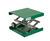 Hebebühne Alu, grün, 100x100 mm, mit, Stellrad, Hub 55-120mm Hebebühne Alu, grün, EPOXI...