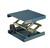 Hebebühne Alu blau, 400x400mm, Hub, 130-470mm Hebebühne, Alu, blau eloxiert, 400x400mm, mit...