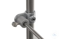 Fitting für DIN-Stativmaterial  d=26,9/12-13mm, T-Guss/Stahl Fitting für DIN-Stativmaterial...