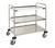 Laboratory cart 3, 18/10 steel, demountable, 3 plates Laboratory cart 3, 18/10 steel,...