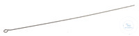 Eye 18/10 steel f. Needle holder KOLLE, L=100mm, D=4mm Eye 18/10 steel for Needle holder KOLLE...