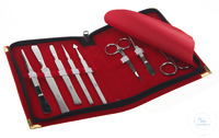 Dissecting set, stainless steel, magnetic, 8 pieces Dissecting set, stainless steel magnetic, 8...