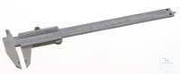 Vernier calliper stainless steel, L=150mm Precision vernier calliper, hardened stainless steel....