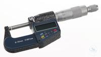 Micrometer digitaal, 5-cijferig LCD-display Micrometer digitaal met...