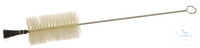 Brush for flask, D=80mm, L=550mm Brush for flasks, iron wire zincked, with natural brushes,...