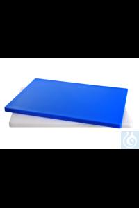 HACCP snijplank, blauw, L x B x D = 610 x 460 x 25 mm HACCP snijplank, blauw,...