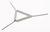 Triángulo, acero cincado, con tubos de arcilla, L=50mm Triángulo, acero cincado, con tubos de...